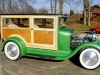 Green Wood-Body Car