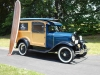 1930_Ford_Woody_with_Surfboard